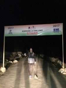 Start Khardung La Challenge 2017